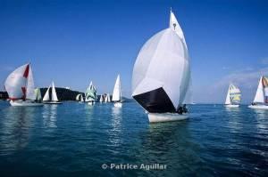 Patrice Aguilar, Régate sur l'étang de Berre