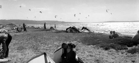 Profitez des vacances pour faire du kite...