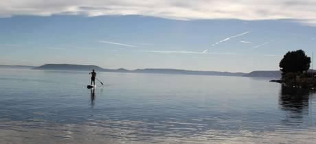 La plage de Monteau à Istres est fermée à la baignade