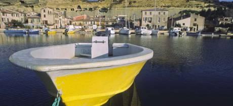 Saint-Chamas : site pilote pour l'installation d'habitats artificiels pour juvéniles