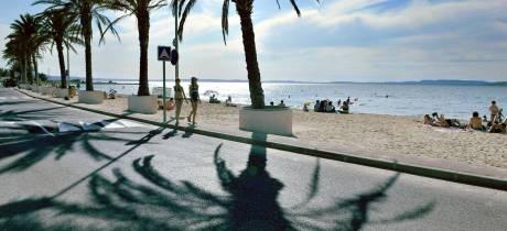 À la plage de Champigny (Berre l'Etang), sport, culture et détente