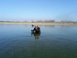 Pêche à la palourde