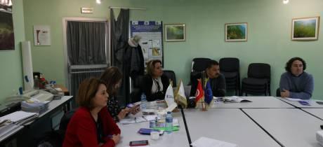 Réception d'une délégation tunisienne
