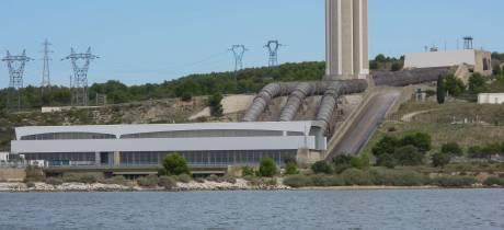 En 2019, 574 millions de m3 d'eau douce, les turbinages les plus faibles depuis l'ouverture de la centrale EDF !