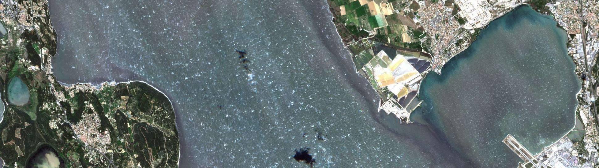 Photo satellite 5 mai 2019 (Sentinel 2)
