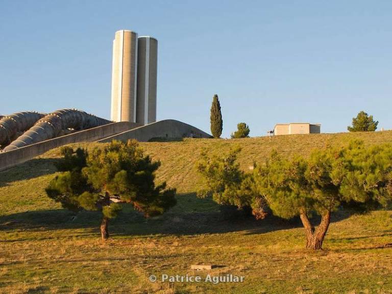 Centrale EDF De Saint Chamas / Hydroelectric Power Station Of Saint Chamas