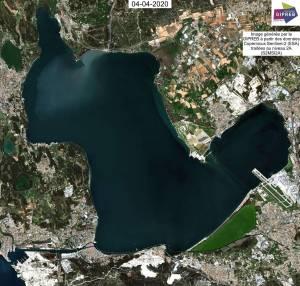 Image Sentinel -2 du 04 avril 2020 (Copernicus Sentinel Data)